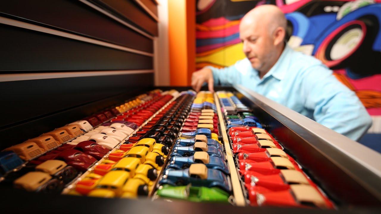 Die teuerste und beeindruckendste Sammlung von Hot Wheels der Welt