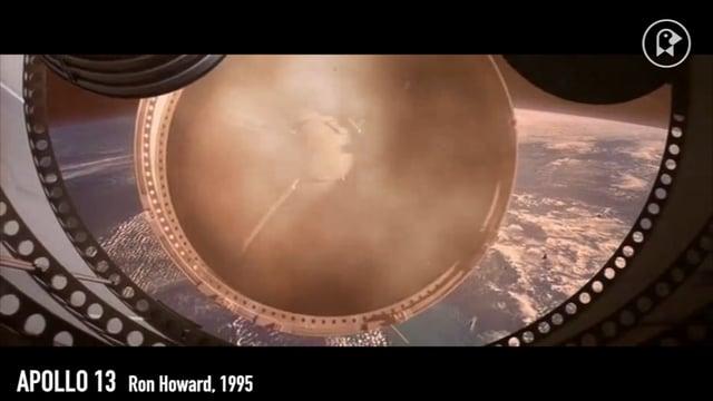 Ein traumhafter Supercut aus Filmszenen, die den Menschen den Weltraum erobern lassen