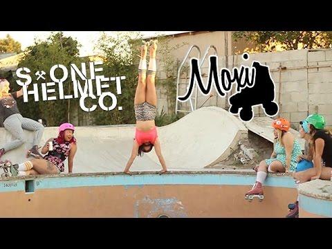 Estro Jen and the Moxi Roller Skate Team entdecken Skate Parks und Bowls in Südkalifornien