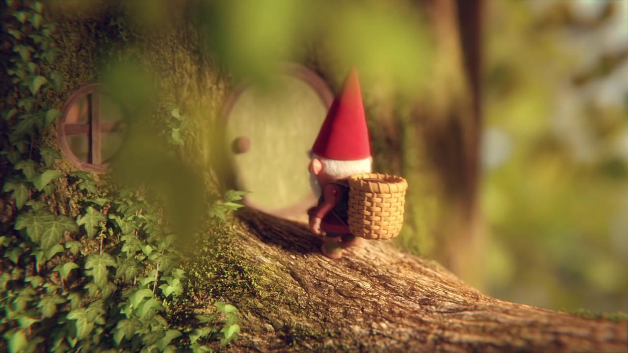 """Im Kurzfilm """"Gnome"""" kann ein kleiner Gnom ob der Schmatzgeräusche einer Raupe nicht schlafen"""