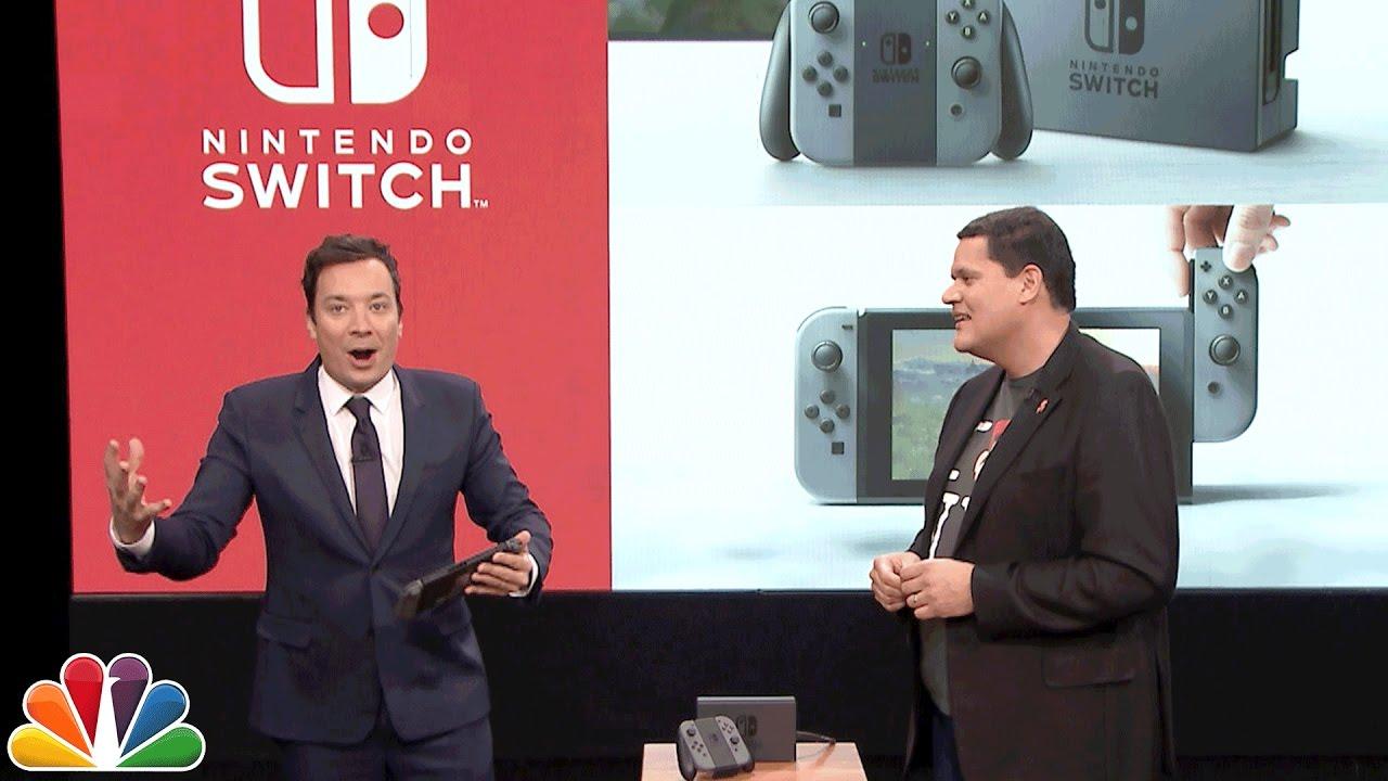 Die Tonight Show mit Jimmy Fallon zeigt das Nintendo Switch in Aktion!
