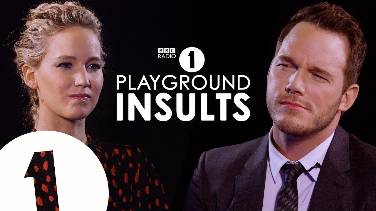 Jennifer Lawrence und Chris Pratt beleidigen sich gegenseitig wie Kindergartenkinder
