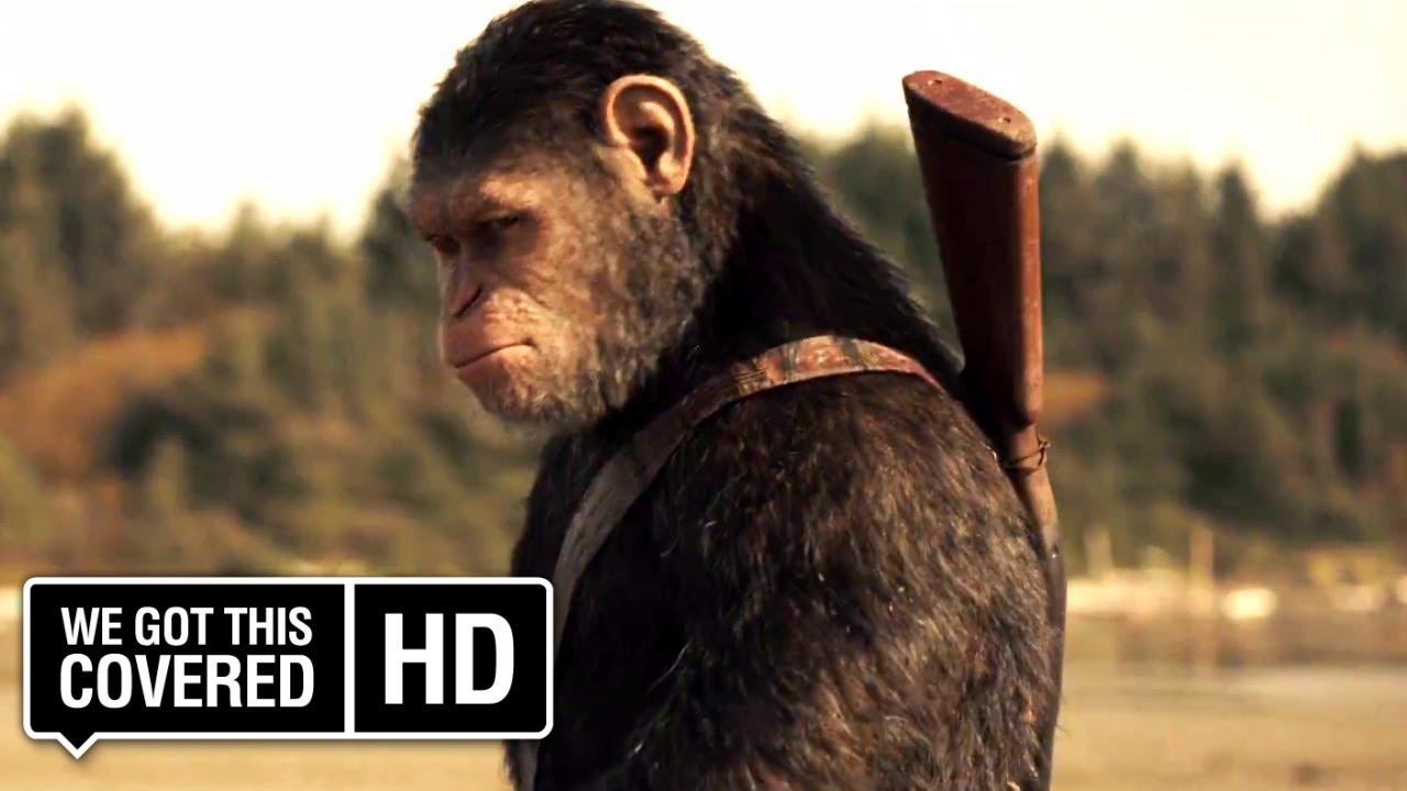 """""""War for the Planet of the Apes"""" hat ein schniekes Poster und einen ersten Trailer"""