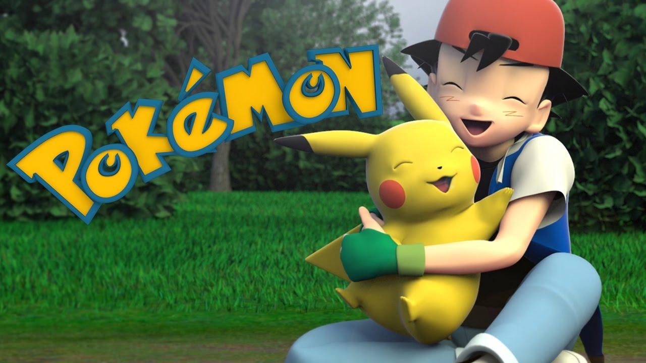 """Das Intro von """"Pokémon"""", aber in 3D"""