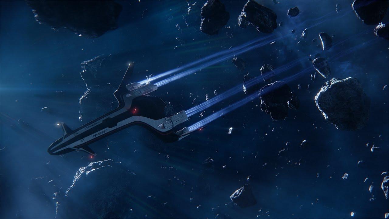 """Das Raumschiff in """"Mass Effect: Andromeda"""" ist echt hübsch und es gibt Flammenwerfer!"""