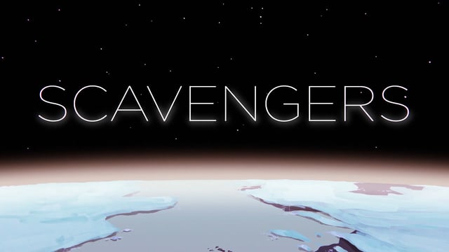 """Der animierte Sci-Fi-Kurzflm """"SCAVENGERS"""" erinnert optisch sehr an Moebius"""