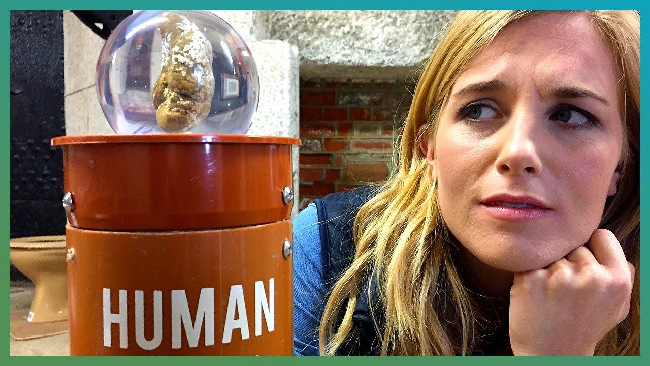 Die BBC zu Besuch im der Welt ersten Kacke-Museum