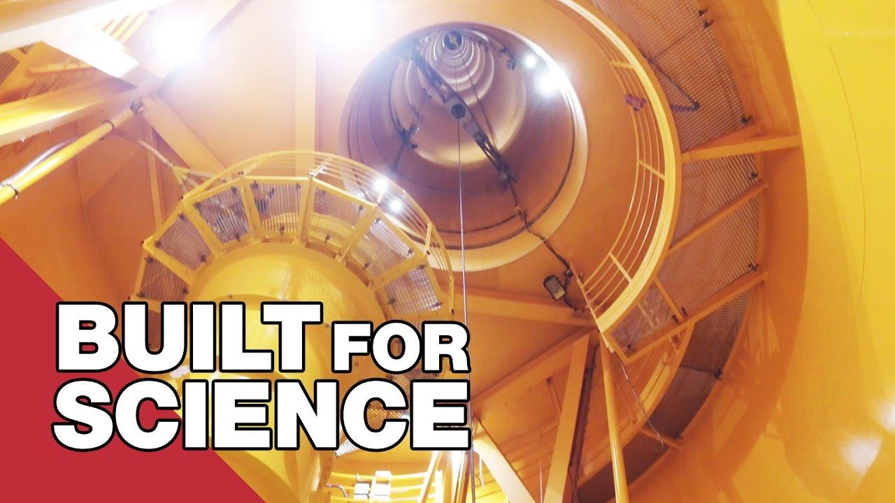 In Bremen gibt es einen 100m hohen Turm, der für Schwerelosigkeitsexperimente verwendet wird