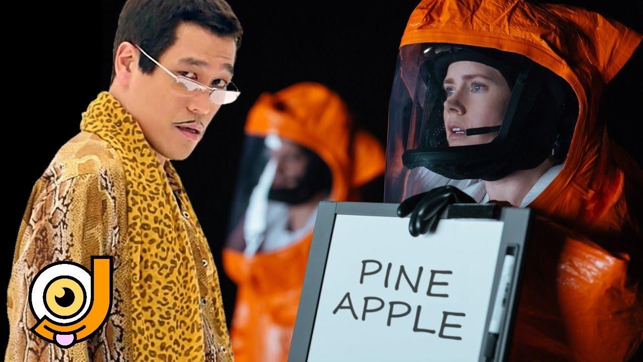 """Pineapple Apple Pen Alien und """"Arrival"""" ??"""
