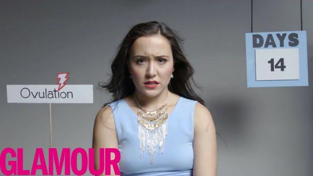 Wenn es doch nur ein Video gäbe, das mir den Menstruationszyklus der Frau in 2 Minuten erklärt