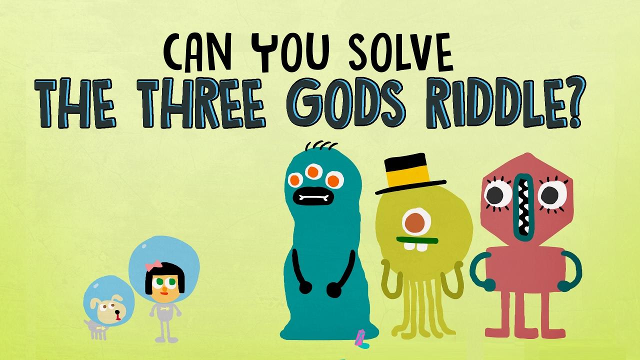 Das Logikrätsel mit den drei Alien-Göttern gilt als das schwerste der Welt