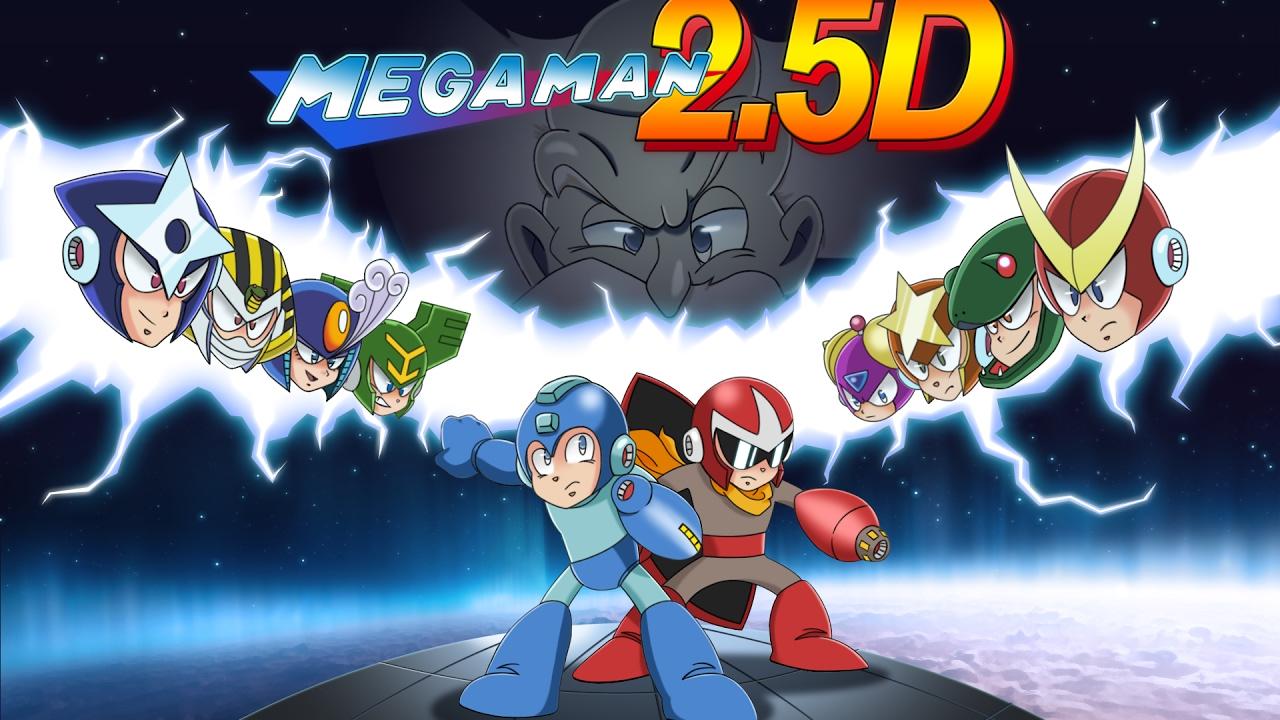"""Das Spiel """"Mega Man 2.5D"""" stammt von Fans der Serie, ist gratis und fast 3D, aber nicht so richtig!"""