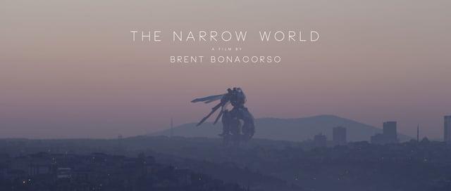 """Der Kurzfilm """"The Narrow World"""" erzählt von einem außerirdischen Roboter, der auf der Erde landet und… nichts tut."""