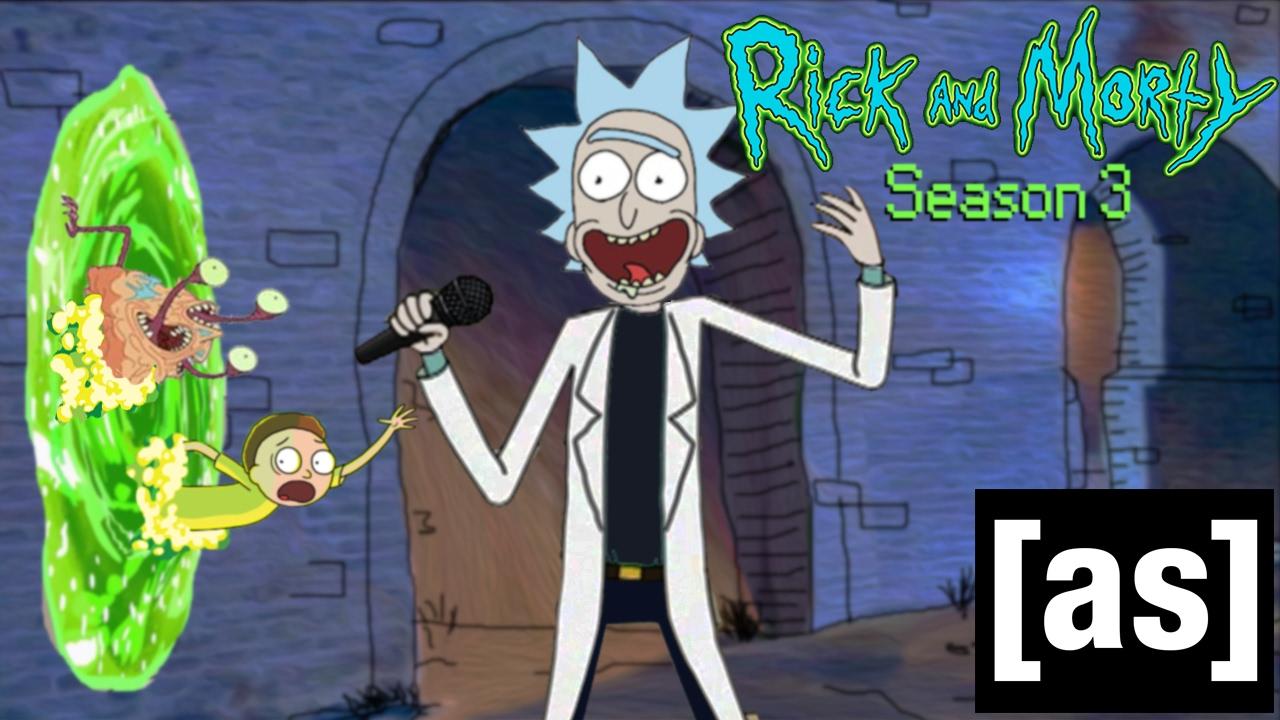 """Die richtig echte Eröffnungsszene der dritten Staffel von """"Rick and Morty"""""""