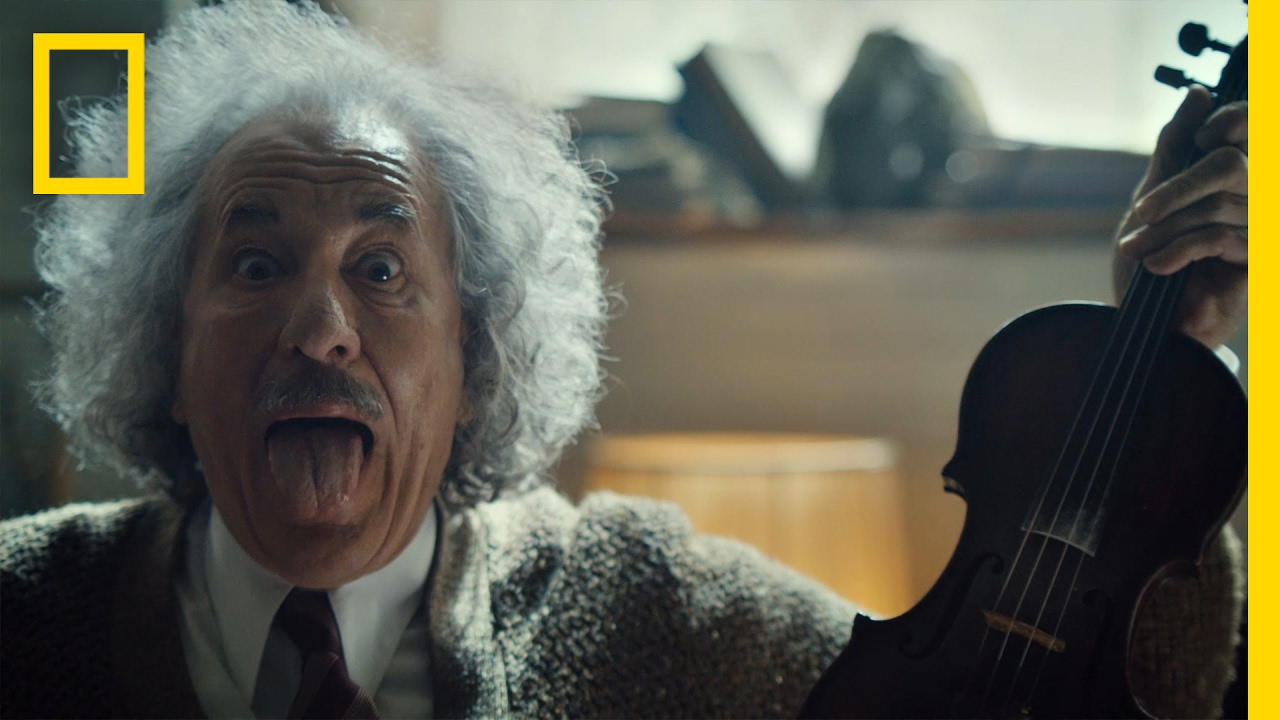 Geoffrey Rush spielt als Albert Einstein Lady Gaga