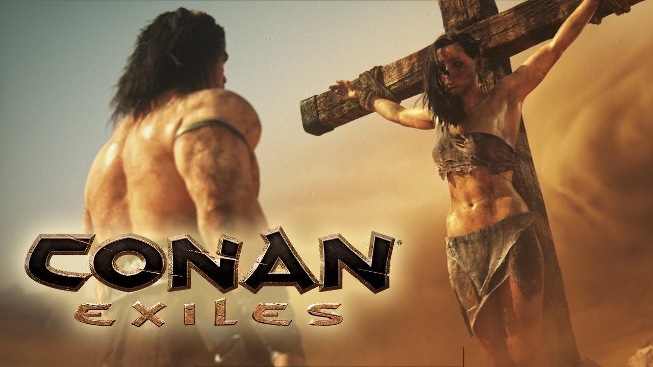 """Im Spiel """"Conan Exiles"""" kann man neben dem Gesicht auch seinen Penis gestalten (NSFW)"""