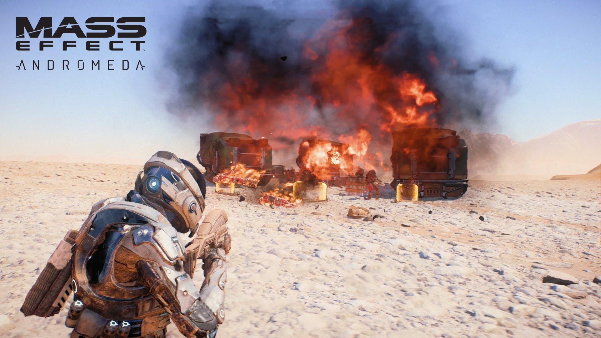 """""""Mass Effect: Andromeda"""" – Ein neuer Trailer zeigt uns das Gameplay!"""