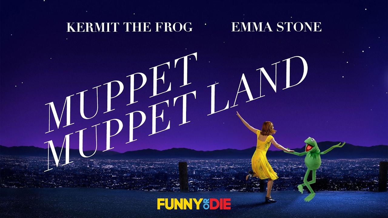 """Mit Kermit statt Ryan wird """"La La Land"""" zu """"Muppet Muppet Land"""""""