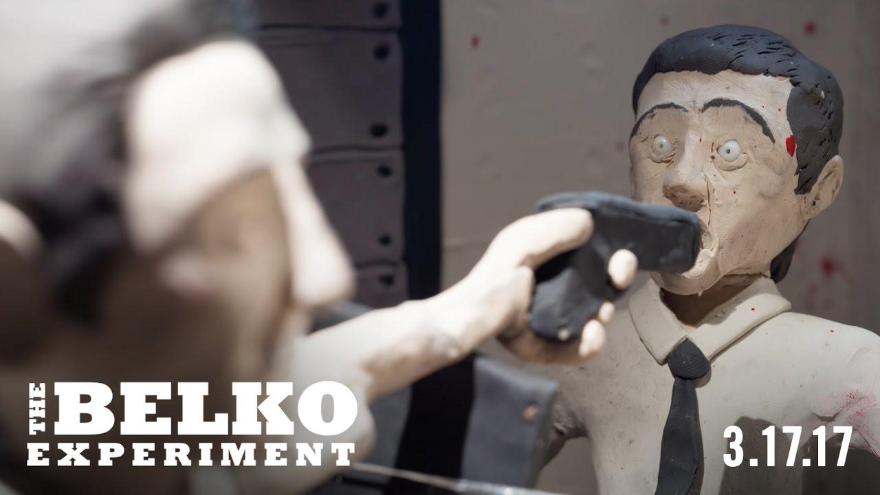 """""""The Belko Experiment"""", der neue Film von James Gunn, als Claymation (NSFW)"""