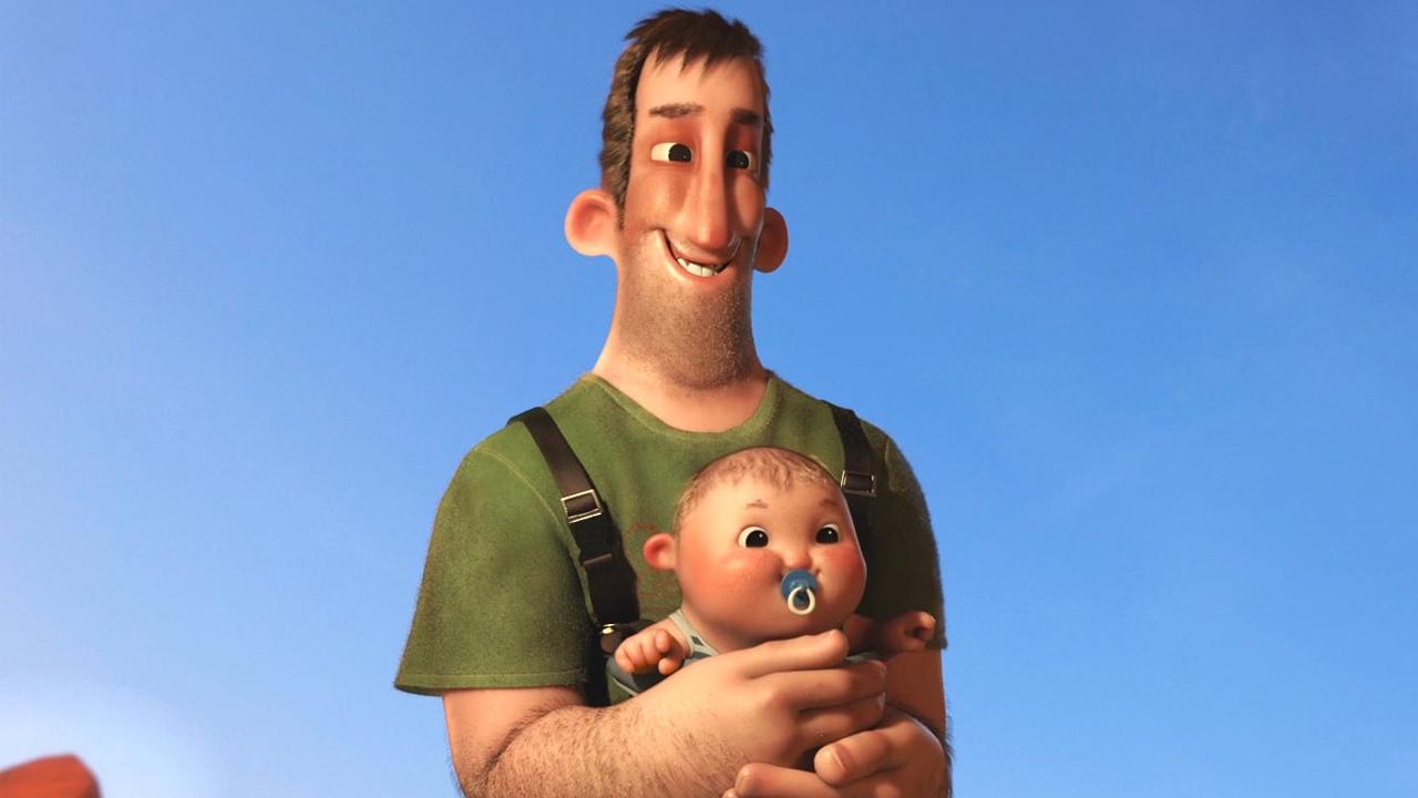 Vielleicht geht der Father of the Year Award an den Vater in diesem kurzen Kurzfilm