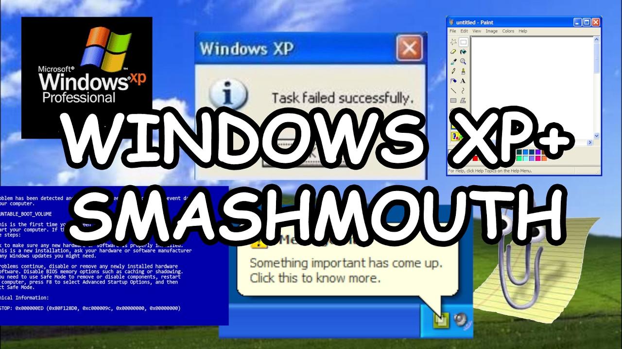 """Wie """"All Star"""" von Smash Mouth, aber mit Sounds aus Windows XP"""