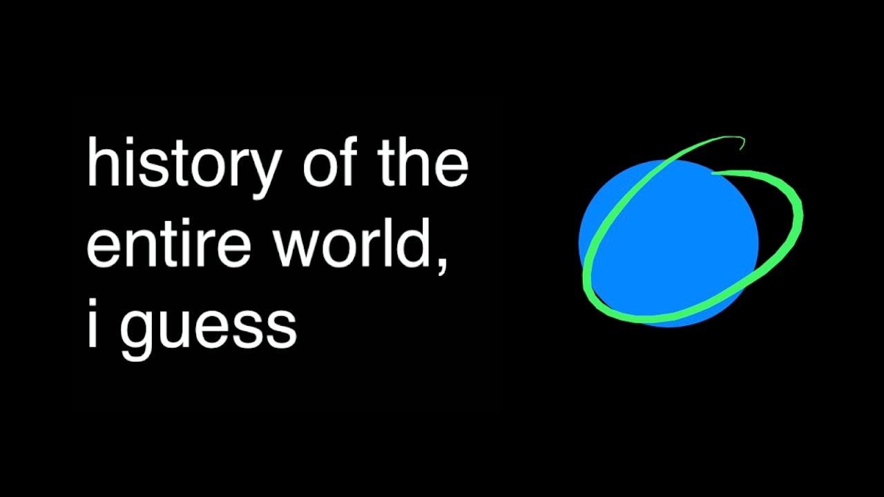 Die komplette Geschichte der Welt in 20 Minuten
