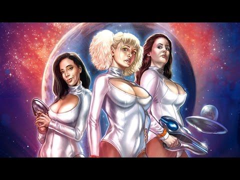 """""""Space Babe From Outer Space"""" ist nicht nur ein toller Filmtitel, sondern hat auch einen tollen Trailer"""