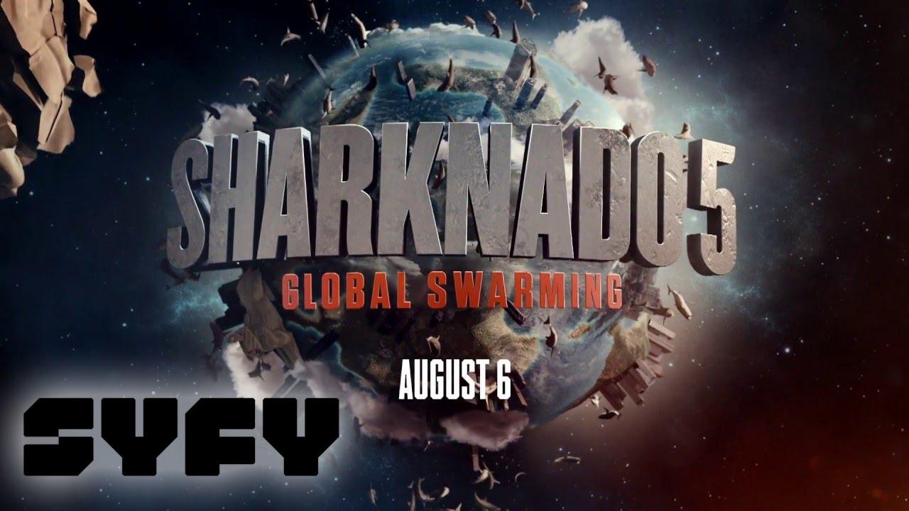 """Im Teaser zu """"SHARKNADO 5"""" stürzen Haie in bekannte Bauwerke"""