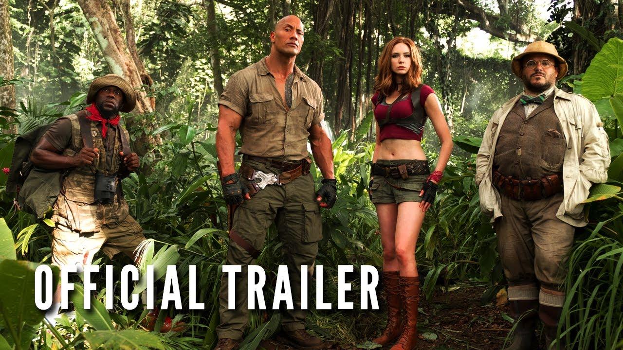 """""""Jumanji: Welcome to the Jungle"""" hat einen Trailer und ist vielleicht eine sehr schlechte Idee"""