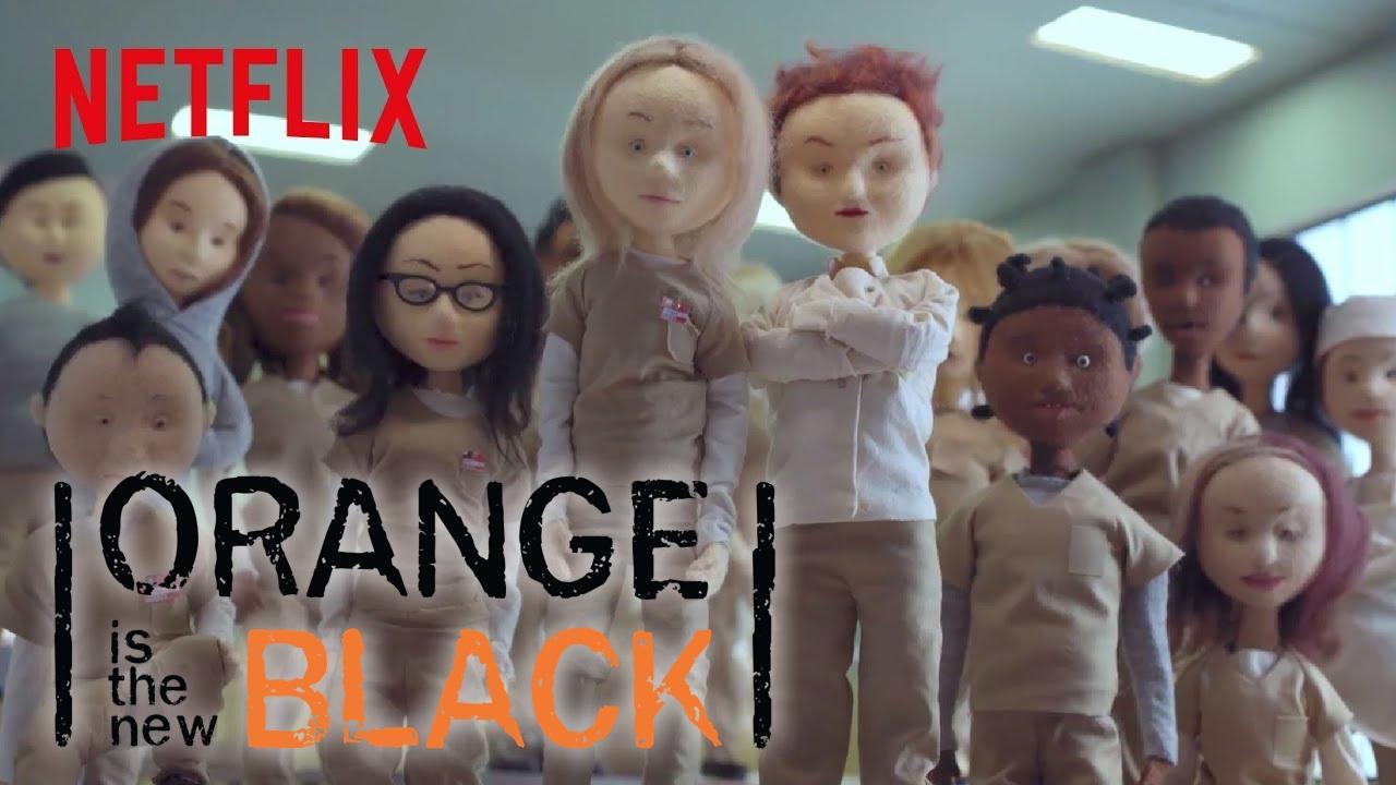 """""""Orange is the New Black"""": Ein Recap der ersten vier Staffeln mit Filzpuppen"""