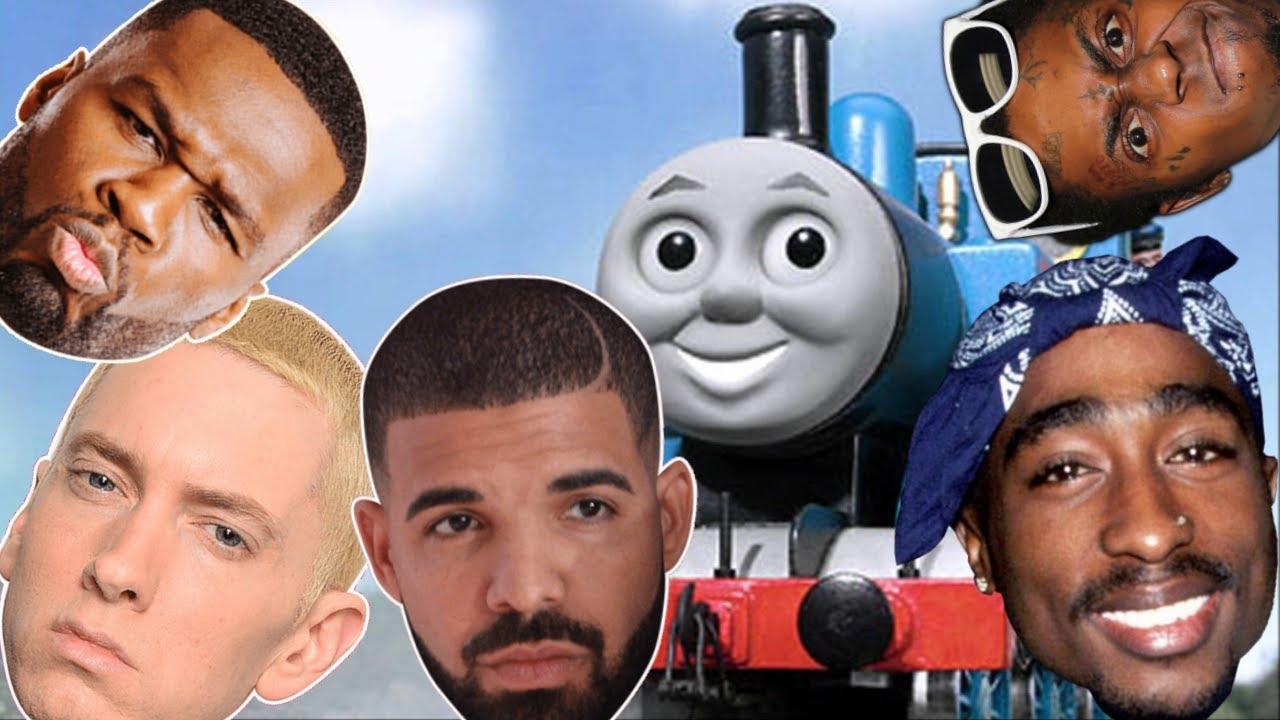 """Wie das Theme von """"Thomas, die kleine Lokomotive"""" die perfekte Musik für verschiedene Rap-Stile ist"""