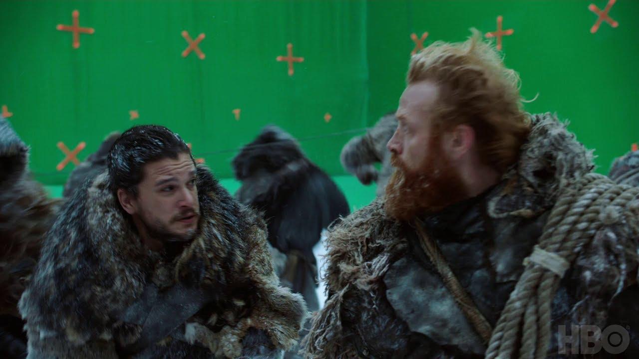 """""""Game of Thrones"""": Ein Blick auf die Produktion der Szene auf dem Eissee in S07E06 #Spoilers"""