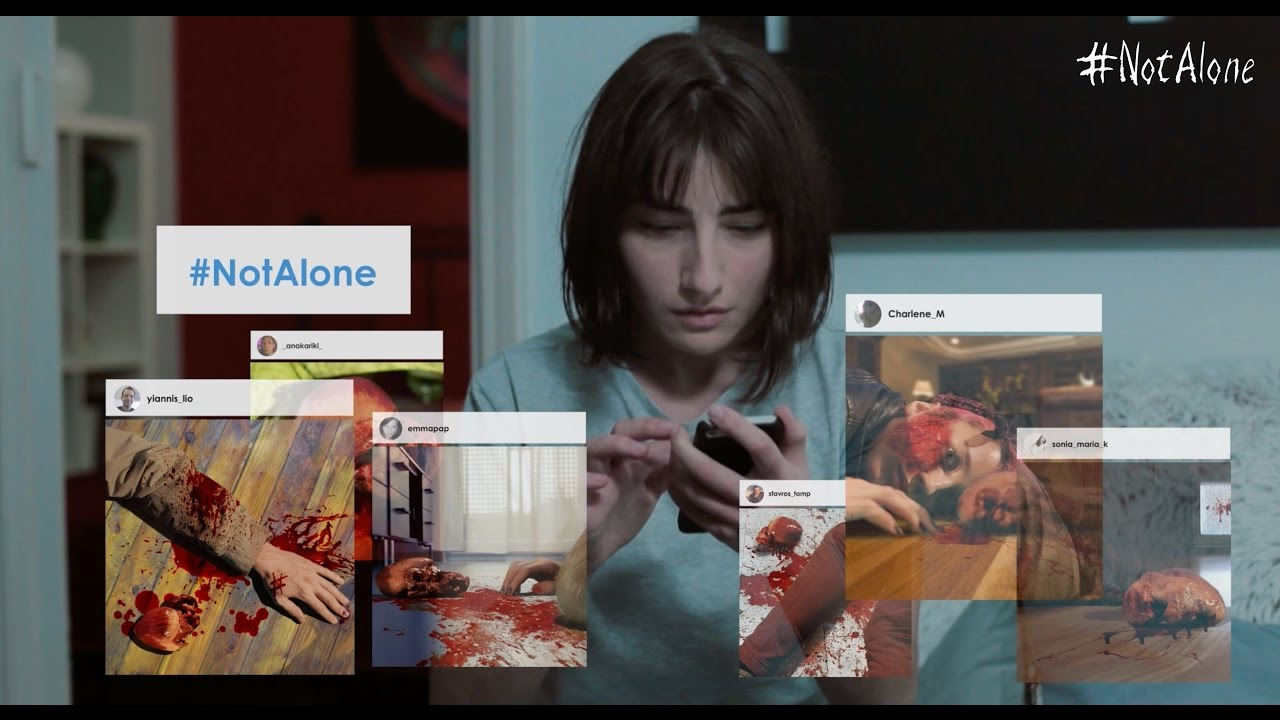 """Im Horrorkurzfilm """"#NotAlone"""" wird Social Media zum Albtraum"""