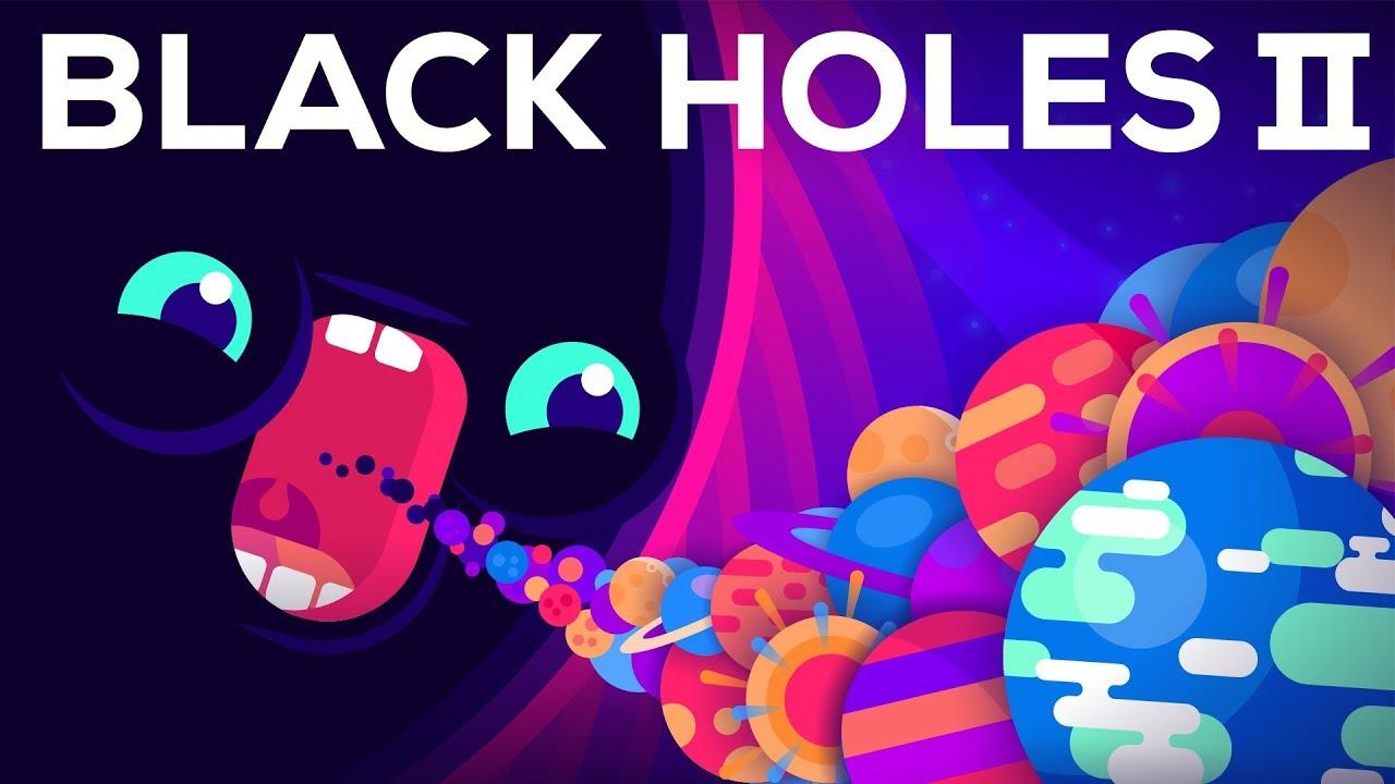 Kurzgesagt darüber, wie schwarze Löcher das Universum auslöschen könnten und warum es ein Hologramm sein könnte