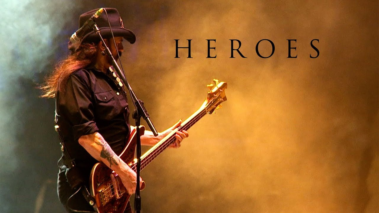 """Motörhead singen """"Heroes"""" von David Bowie"""