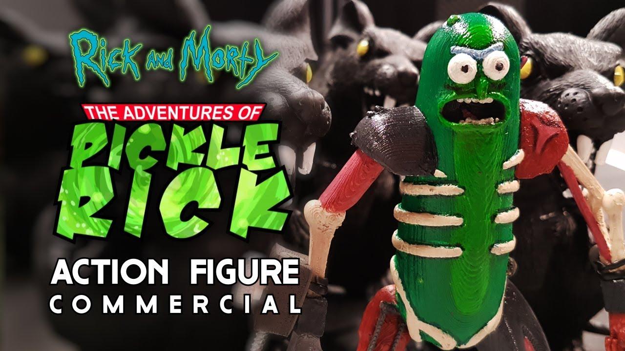 """""""Rick and Morty"""": Pickle Riiiiiick – Die Fernsehwerbung zur Actionfigur"""
