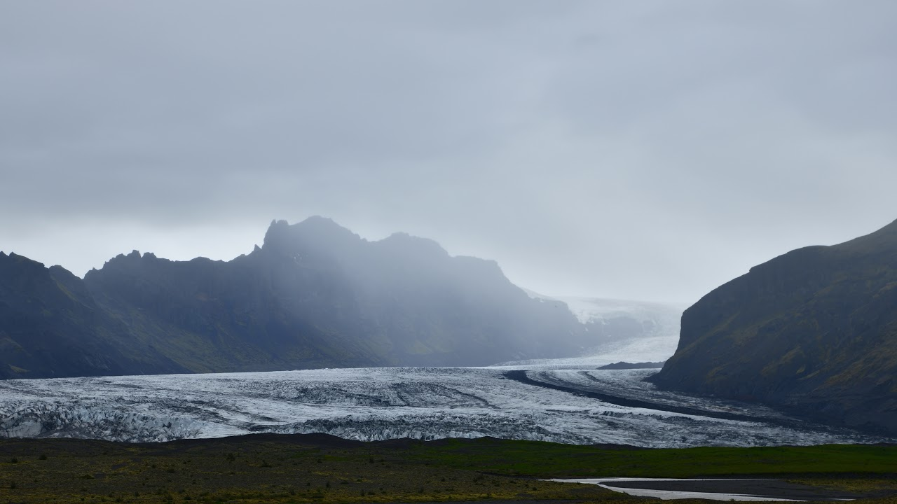 Island im Zeitraffer und 8K