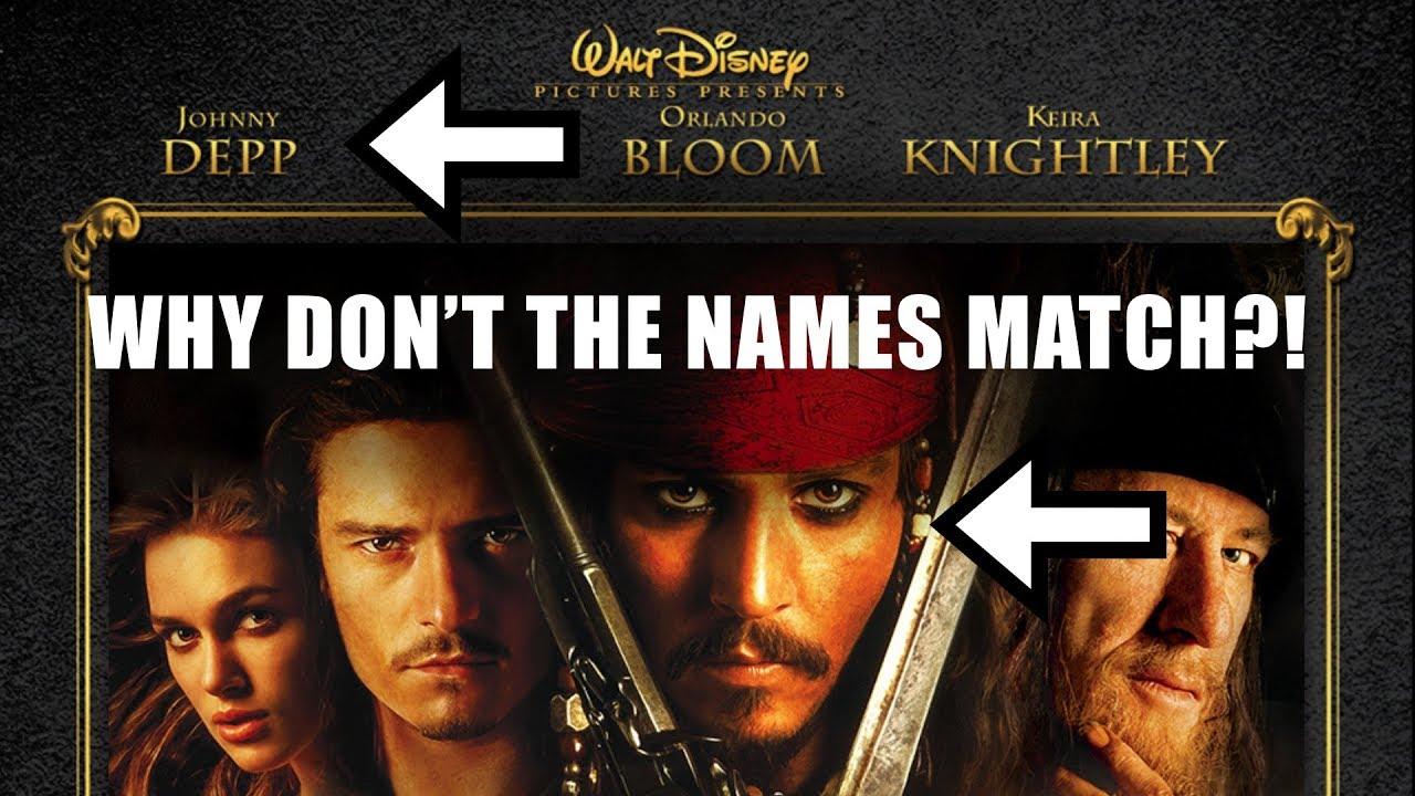 Warum Namen und Gesichter auf Filmplakaten nie die gleiche Reihenfolge haben