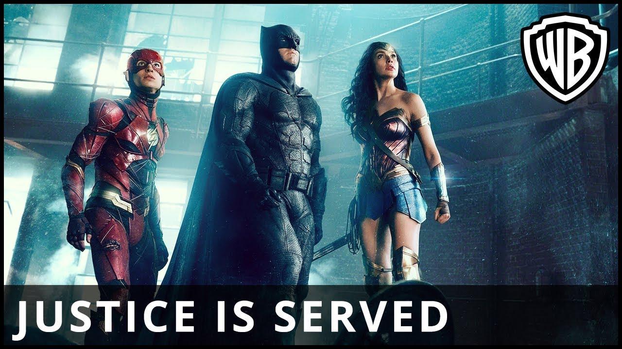 """Ach so, ja, """"Justice League"""", Trailer…"""
