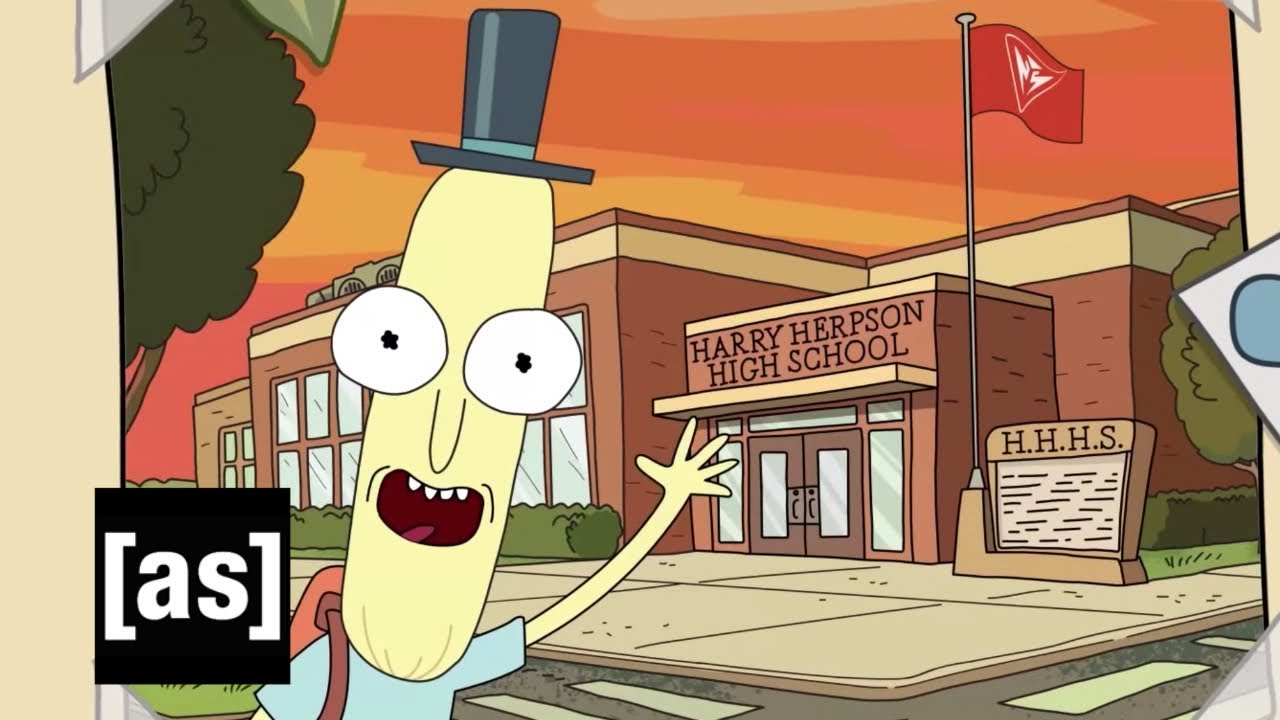 "Mr. Poopybutthole aus ""Rick and Morty"" reminisziert über sein Leben"