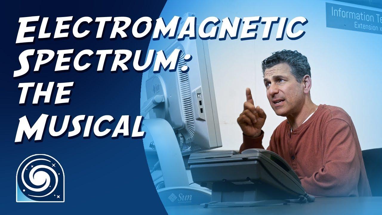 GlaDOS erklärt uns singend das elektromagnetische Spektrum (also Licht)
