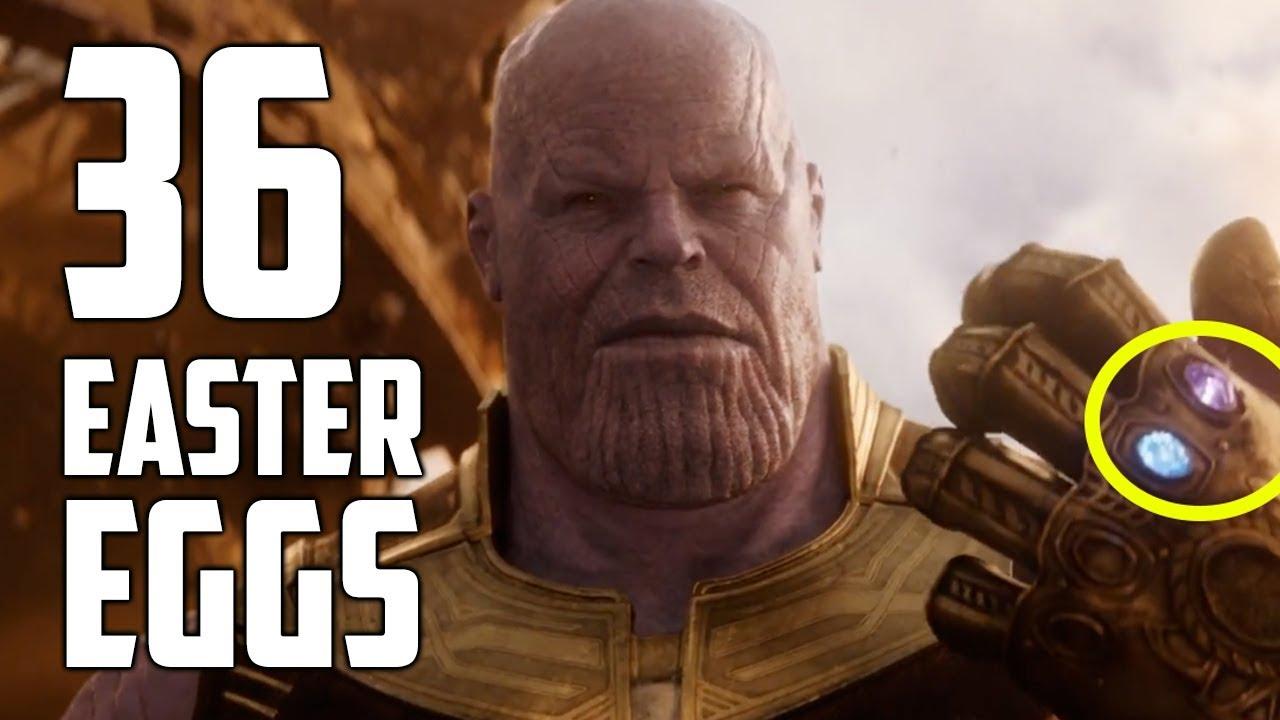 """Zwei Videos zeigen uns die verpassten Easter Eggs aus dem Trailer zu """"Avengers: Infinity War"""""""