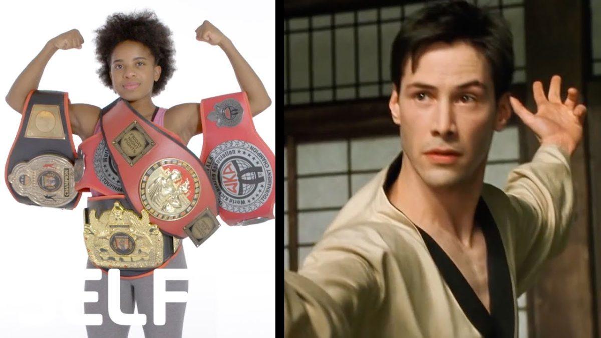 Raquel Harris, Kampfsportexpertin, analysiert die Kampfszenen in bekannten Filmen und Fernsehserien