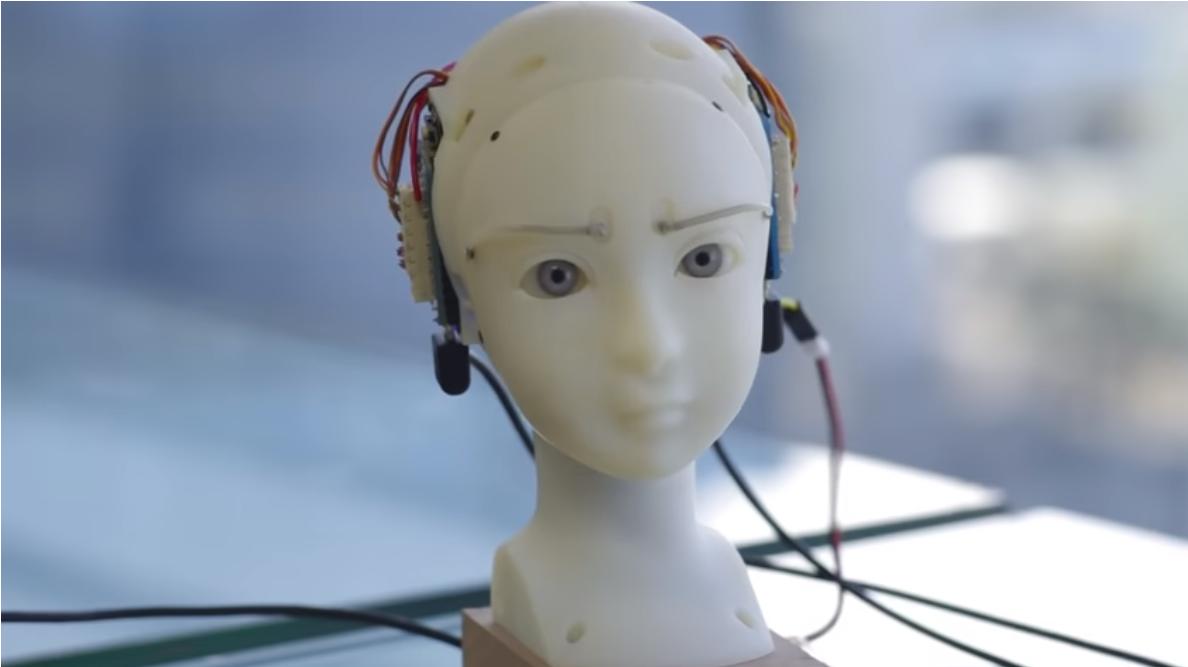 SEER ist ein erschreckend ausdrucksstarker Roboterkopf