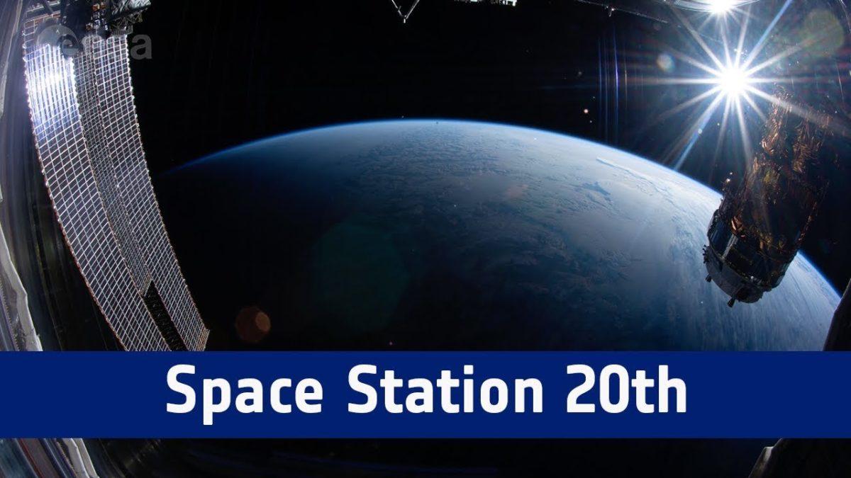Zum 20. Geburtstag bekam die ISS die längste Zeitrafferaufnahme aus dem Weltraum