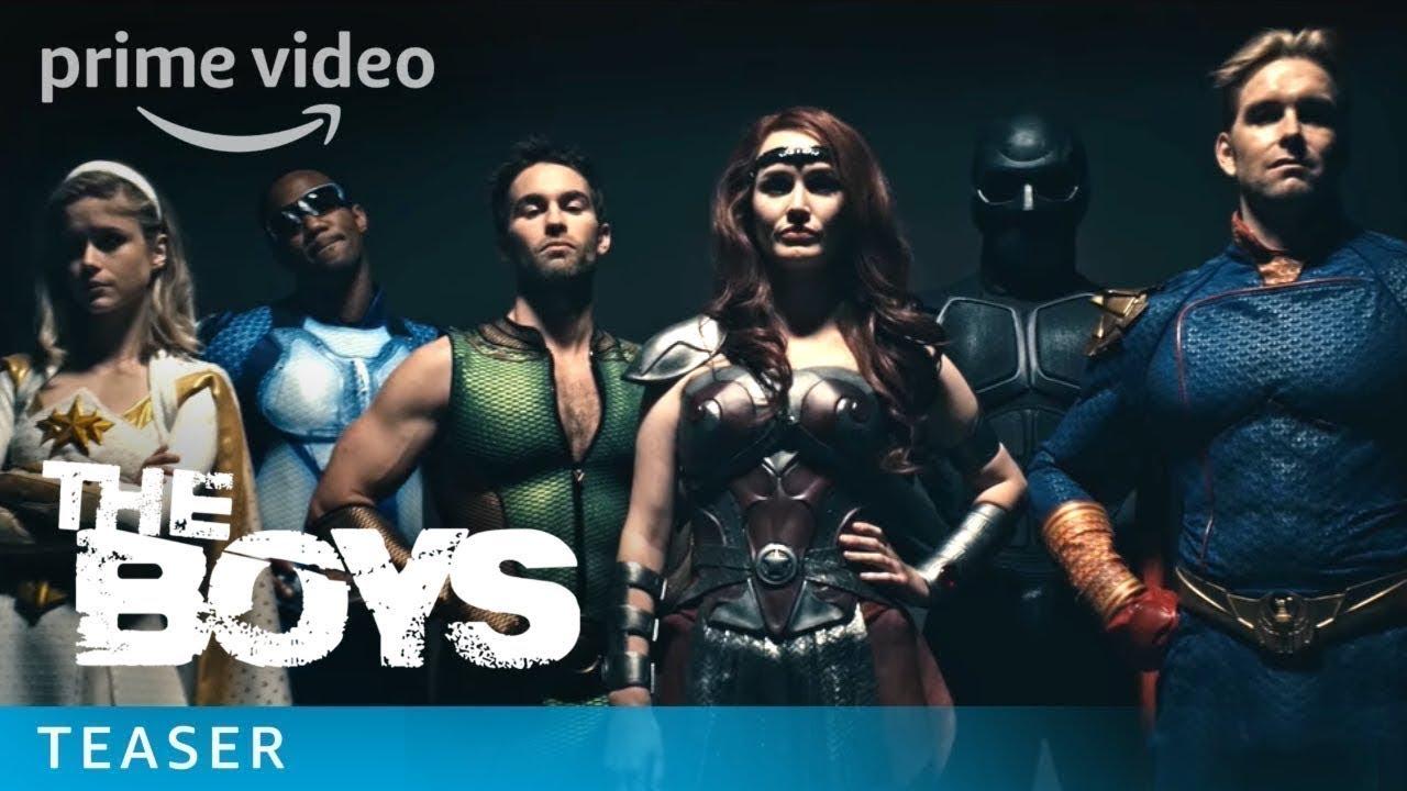 """""""The Boys"""", die Verfilmung Superhelden-Dekonstruktion von Garth Ennis, hat endlich einen Trailerrrrrr!"""