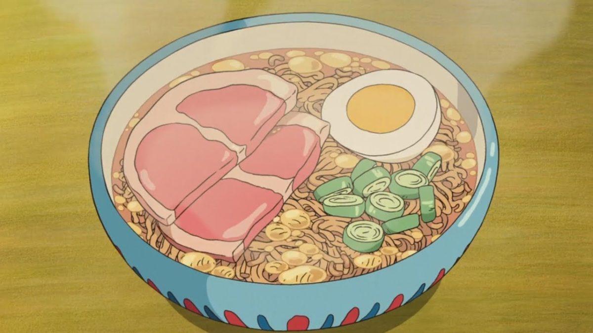 Animierte Figuren machen und essen animiertes Essen und es sieht alles so absurd köstlich aus