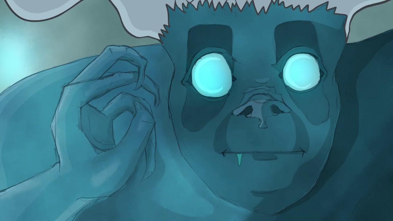 Eine kurze Animation über Schlafparalyse