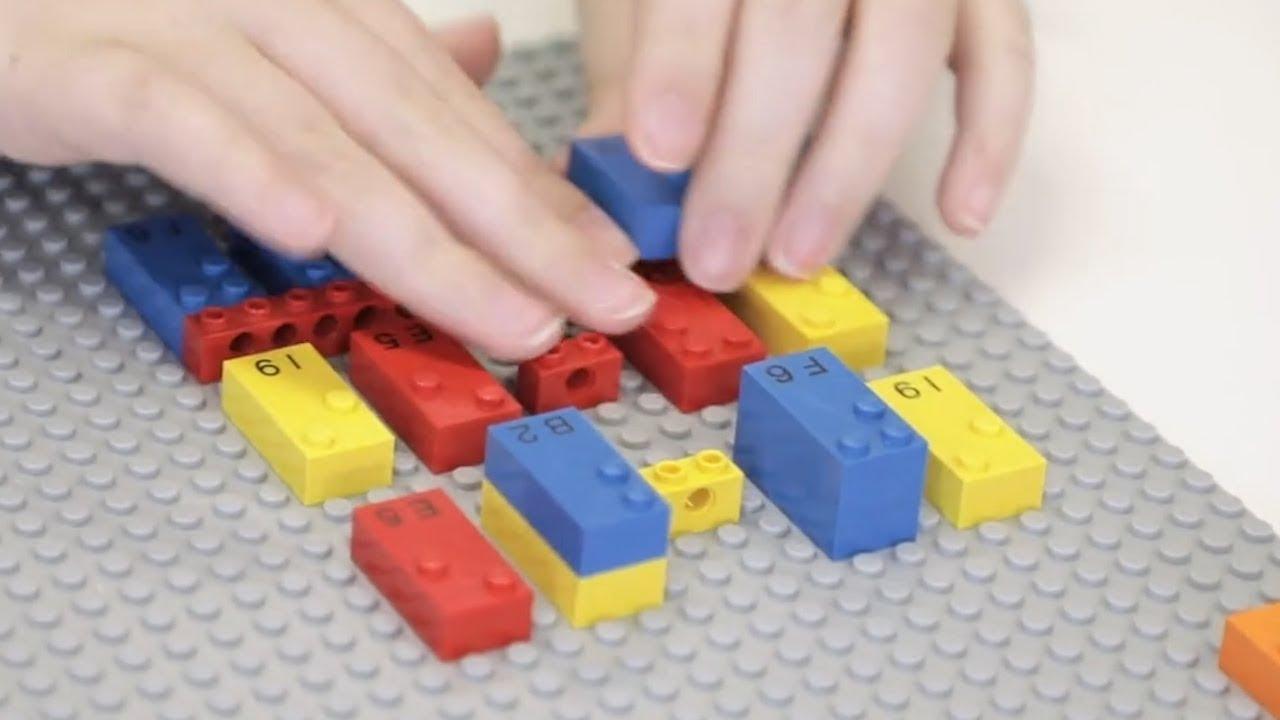 LEGO testet gerade ein Steine mit Braille-Schrift