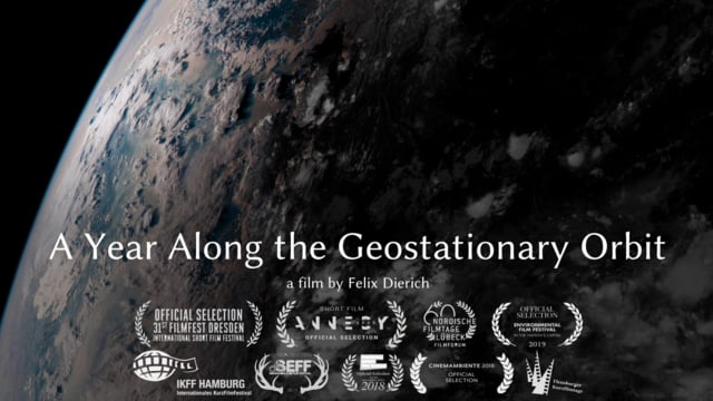 """A Year Along the Geostationary Orbit"""